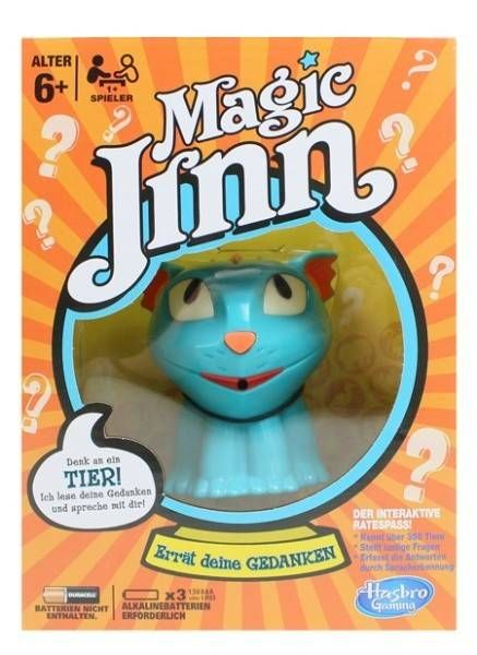 Magic Jinn - Der Gedankenleser der Kinder - Tier-Edition