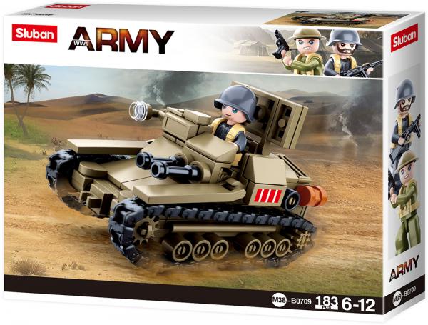 Kleiner italienischer Panzer