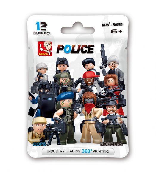 Polizisten und Räuber - Beutel