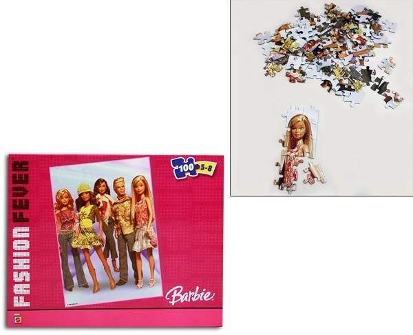 Barbie Fashion Fever Puzzle 100 Teile