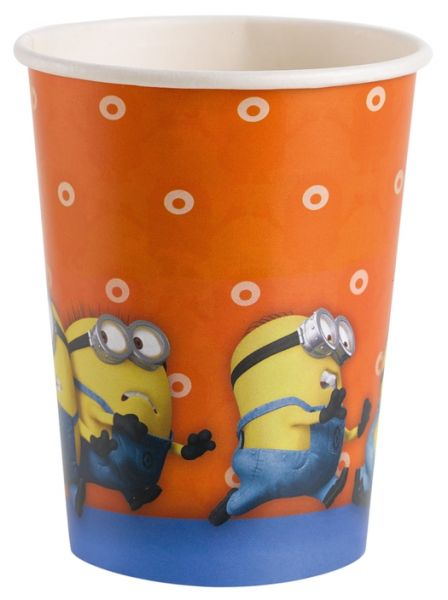 Minions Pappbecher 266 ml