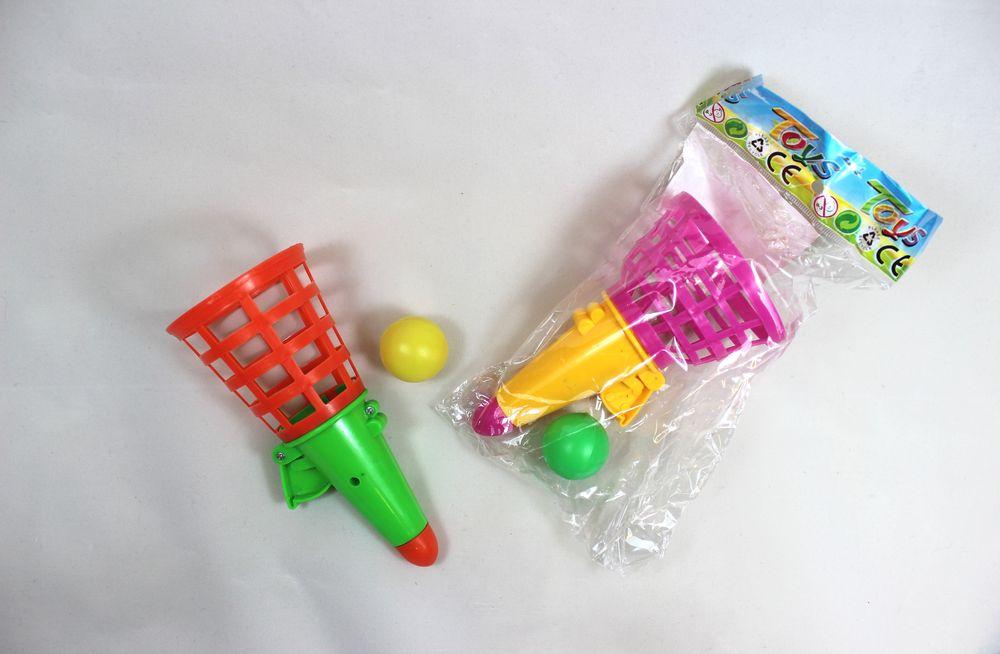 13 cm grün gelb Fangspiel Mitgebsel Kindergeburtstag 2er Set Fangbecher ca